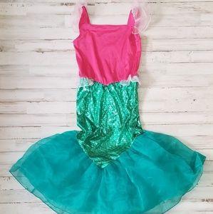 Gymbore girls size 10-12 Mermaid costume and Tiara